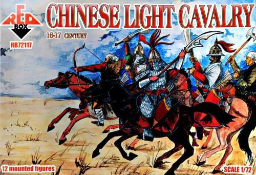 Red Box RB72117 Chinese light cavalry,16-17th century