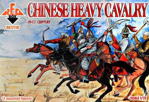 Red Box RB72119 Chinese heavy cavalry, 16-17th century