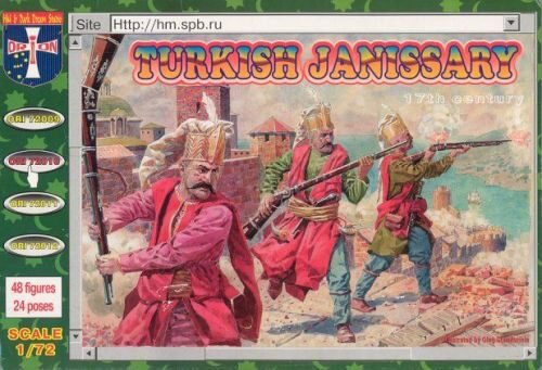 Orion ORI72010 Turkish janissary, 17. century