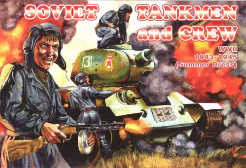 Orion ORI72036 Soviet tankmen and crew, 1943-1945