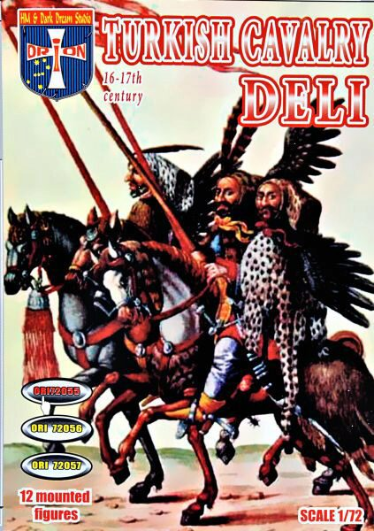 Orion ORI72055 Turkish Cavalry (Deli), 16-17 centuries