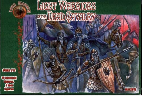 ALLIANCE ALL72013 Light warriors of the Dead Cavalry