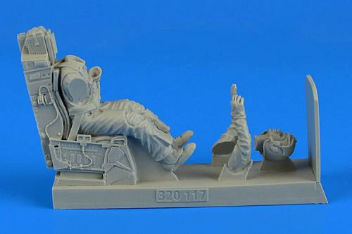 Aerobonus 320.117 USAF Fighter Pilot with ejection seat for Tamiya/Revell
