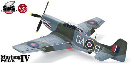 Super Wing Series SWS-9 P-51D/K Mustang IV
