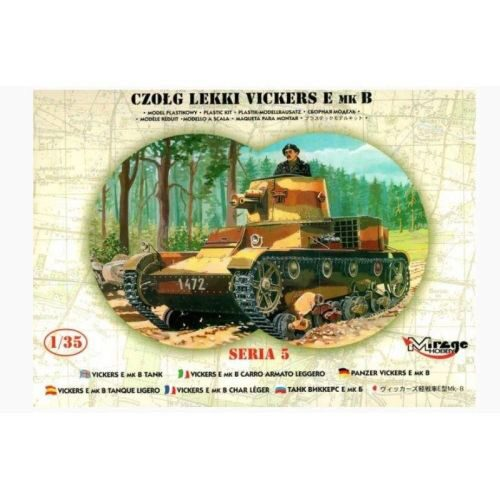 Mirage Hobby 35304 Leichter Panzer Vickers E Mk B