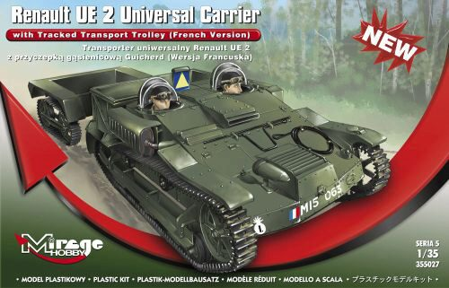 Mirage Hobby 355027 Renault UE 2 Universal Carrier with Trac
