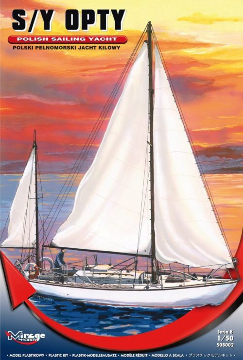 Mirage Hobby 508002 S/Y OPTY Polish Sailing Yacht