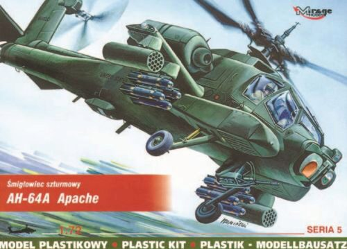 Mirage Hobby 72051 McDonnell Douglas AH-64 A Apache