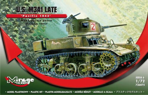 "Mirage Hobby 726075 U.S. M3A1 Late ""Pacific 1943"""