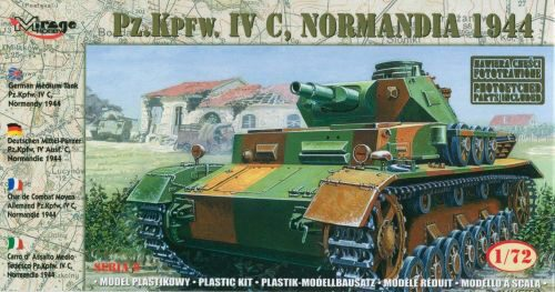 Mirage Hobby 72853 Pz.IV C Normandy 1944