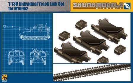 SKUNKMODEL Workshop SW-35001 T-136 TRACK LINK FOR M109A2