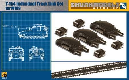 SKUNKMODEL Workshop SW-35002 T-154 TRACK-LINK FOR M109A6