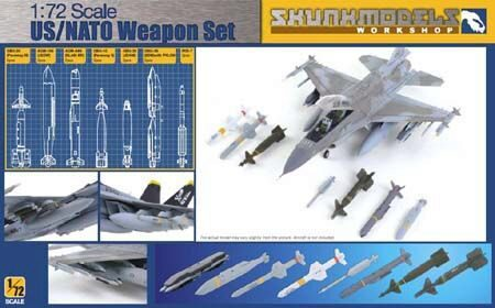 SKUNKMODEL Workshop SW-72002 US/NATO Weapons Set (GBU-39,AGM-154,GBU