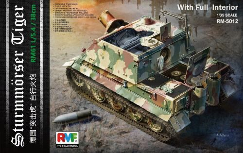 Rye Field Model RM-5012 Sturmtiger With Full Interior (To be