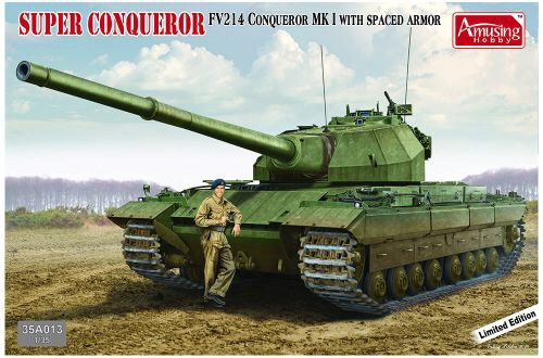 Amusing Hobby 35A013 FV214 Conqueror MK I *Limited Edition* with SPACED Armor