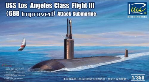 Riich Models RN28007 USS Los Angeles Class Flight III(688 imp