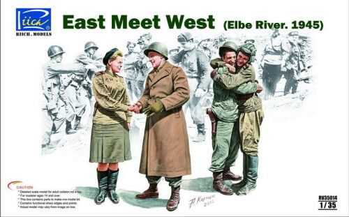 Riich Models RV35014 East meet West (Elbe River.1945)