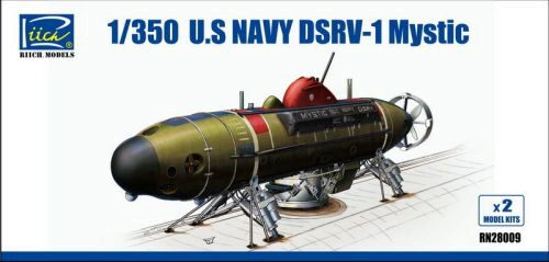 Riich Models RN28009 U.S.NAvy DSRV-1 Mystic(Model Kits X2)