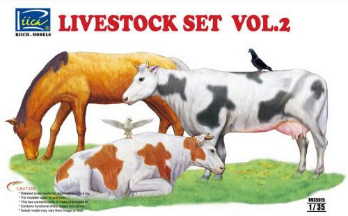 Riich Models RV35015 Livestock Set Vol.2