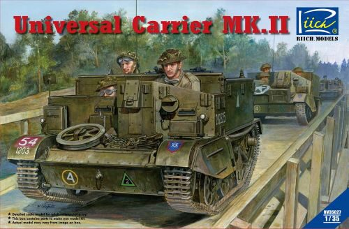 Riich Models RV35027 Universal Carrier Mk.II (full interior)