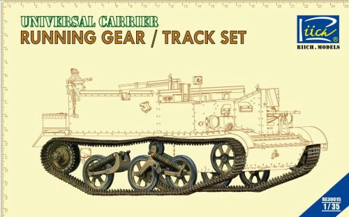Riich Models RE30015 Running gear & Tracks set for Universal Carrier