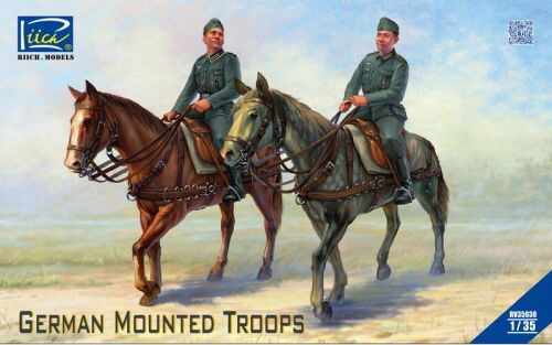 Riich Models RV35038 German Mounted Troops