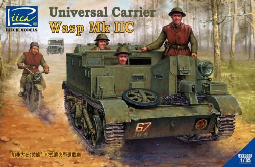 Riich Models RV35036 Universal Carrier Wasp Mk.II with Crew