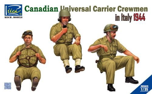 Riich Models RV35029 Canadian Universal Carrier Crewmen in Italy 1944