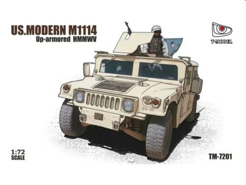 T-Model TM7201 US HMMWV M1114