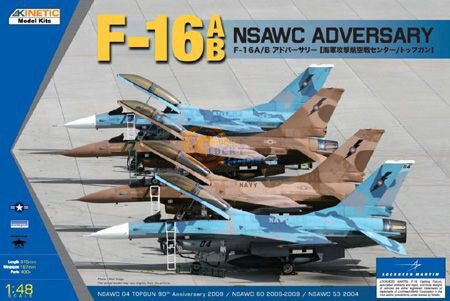 KINETIC K48004 F-16A/B NSWAC Agressor