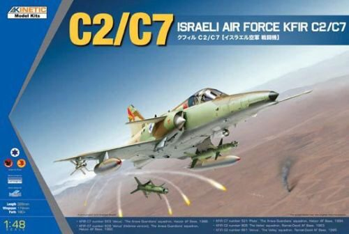 KINETIC K48046 KFIR C2/C7 Israeli Air Force