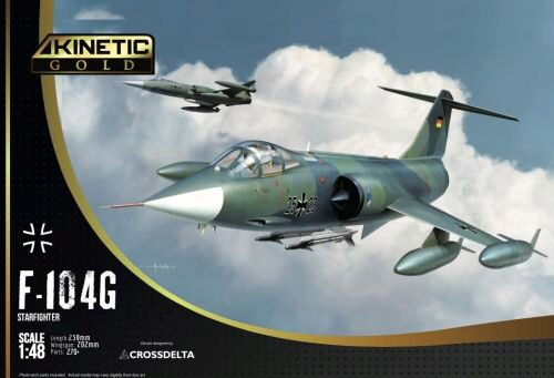 KINETIC K48083 F-104G Germany Air Force and Marine