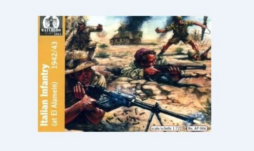 WATERLOO 1815 AP006 Italian Infantry Afrika, 1940-43
