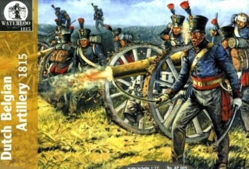 WATERLOO 1815 AP009 Dutch Belgian Artillery, 1815