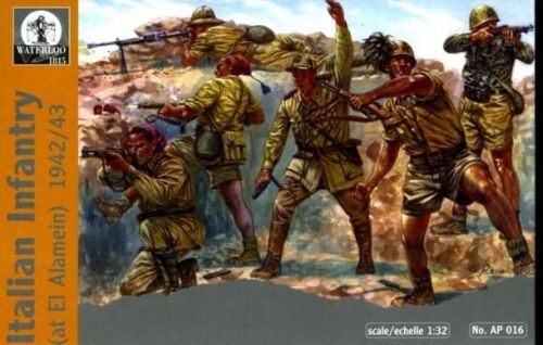 WATERLOO 1815 AP016 Italian Infantry at El-Alamein, 1942-43