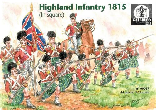 WATERLOO 1815 AP039 Scottish infanty 1815