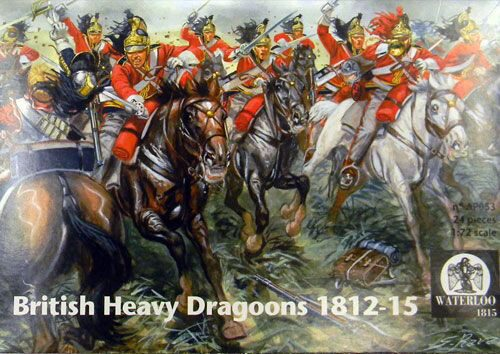 WATERLOO 1815 AP053 British Heavy Dragoons 1812-1815