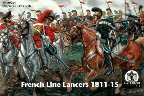 WATERLOO 1815 AP054 French Line Lancers 1811-15