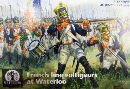 WATERLOO 1815 AP062 French line voltigeurs at Waterloo