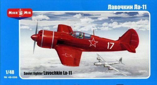 Micro Mir  AMP MM48-006 Lavochkin La-11 Soviet fighter