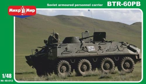 Micro Mir  AMP MM48-012 BTR-60PB Soviet armored personnel carrie