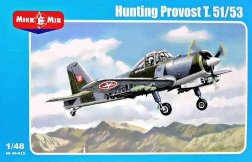 Micro Mir  AMP MM48-015 Hunting Provost T.51/53 (armed version)
