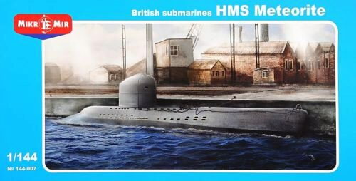 Micro Mir  AMP MM144-007 British submarines HMS Meteorite
