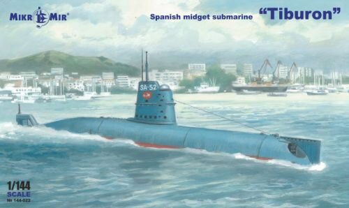 Micro Mir  AMP MM144-022 Spanish Submarine Tiburon