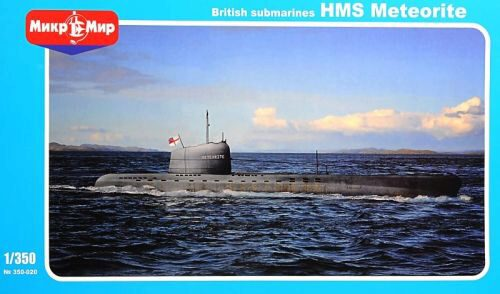 Micro Mir  AMP MM350-020 British submarines HMS Meteorite