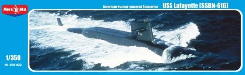 "Micro Mir  AMP MM350-022 U.S. nuclear-powered submarine""Lafayette (SSBN-616)"