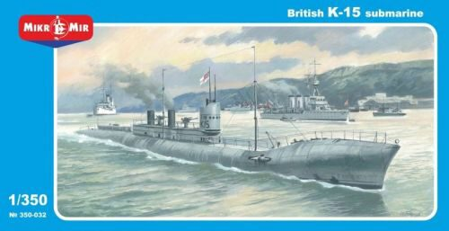 Micro Mir  AMP MM350-032 British HMS K-15 Submarine