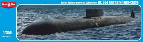 Micro Mir  AMP MM350-033 Project 661 Anchar/Papa-class Soviet nuclear-powered submarine