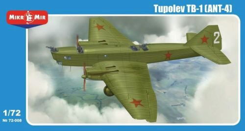 Micro Mir  AMP MM72-008 Tupolev TB-1 (ANT-4)