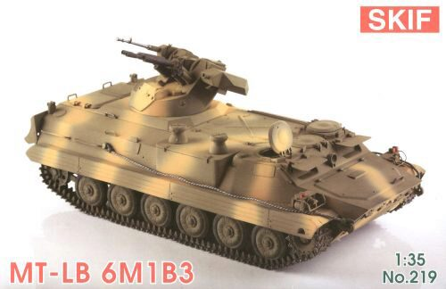 Skif MK219 MT-LB 6M1B3 Soviet Armored troop-carrier
